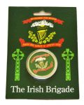 Irish Brigade Flag And Badge Collectors Coin